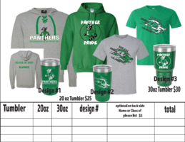 Spirit Wear Order-extended deadline