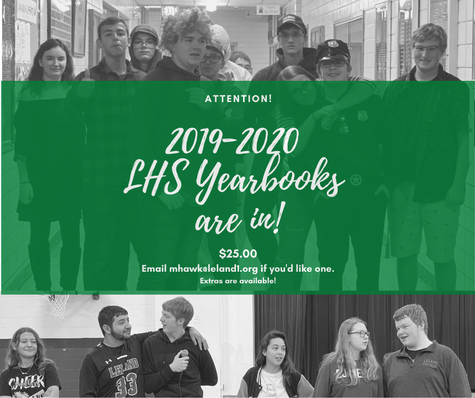 19-20 Yearbooks are in!