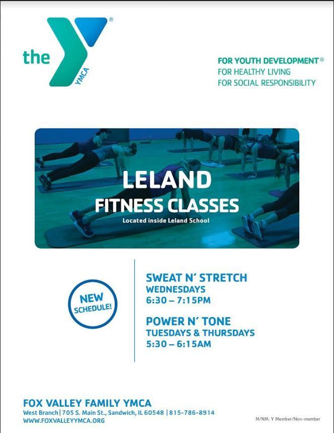 YMCA local fitness classes