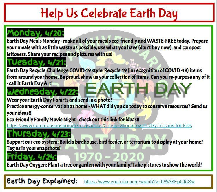 50th Anniversary Earth Day